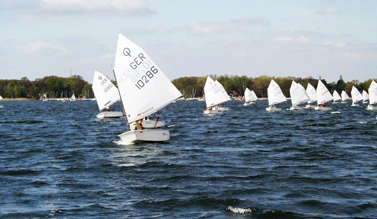 Regatta der Optimisten beim SKM